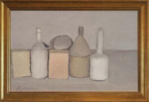 Classic Framed Giorgio Morandi Still Life Giclee Canvas Print