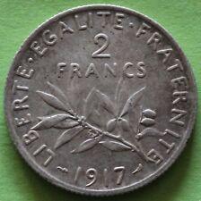 FRANCE 2 FRANCS SEMEUSE 1917