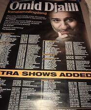 Omid Djalili Iranalamadingdong Live 2014-15 Tour Poster Very Large