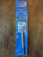 32mm Silverline Flat Wood Drill Bit. New in original plastic sleeve