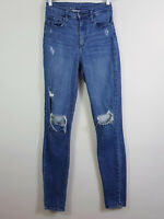 NOBODY | Womens Cult Skinny Distressed Jeans RRP$249 [ Size AU 8 or US 26  ]