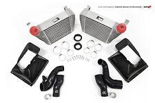 Alpha Tuning Intercooler with Carbon Fiber Shrouds for Porsche Macan