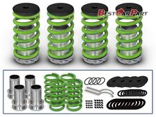 BCP GREEN 92-01 Honda Prelude Adjustable Lowering Coilover Coil Spring Kit