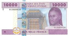 Central African States (T) Congo 10.000 Francs 2002 Pn 110Ta.1 Unc