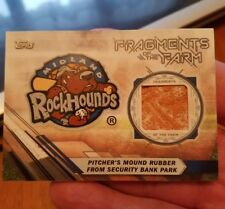 2017 TOPPS PRO DEBUT FRAGMENTS OF THE FARM ROCKHOUNDS PITCHER'S MOUND