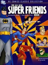 All-New Super Friends Hour: Season One, Vol. 2 [2 Discs (2009, REGION 1 DVD New)