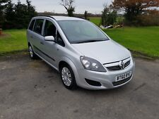 2011 VAUXHALL ZAFIRA life 7 places essence