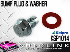 KELPRO SUMP PLUG & WASHER 12mm - 1.25 FOR TOYOTA HILUX RN106 2.4L 22R 4WD PETROL