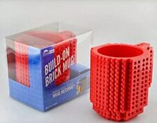 'LEGO' New Build On A Brick Mug, Coffee Cup Red New