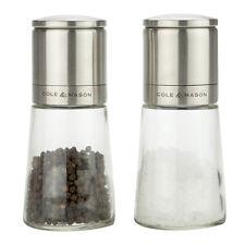 NEW Cole & Mason Clifton Glass Salt & Pepper Gift Set