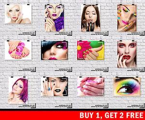 MAKEUP MANICURE PEDICURE BEAUTY SALON NAILS Spray Tan Make Up Buy 1 Get 2 FREE