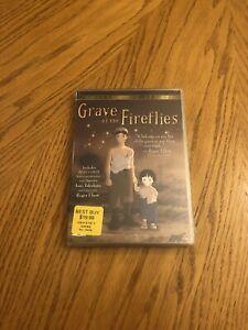 Grave of the Fireflies (DVD, 2002, 2-Disc Set) Brand New OOP