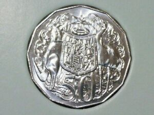 Australia 2021 Uncirculated 50c Specimen Coin From RAM Year Set