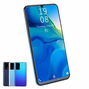 P40 Pro+ 7.2in Waterdrop Screen Smartphone-Dual Sim Face ID Unlocked Smartphone