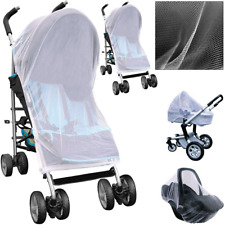 Stroller Pushchair Pram Mosquito Fly Insect Net Mesh Buggy Cover 90 x 140 cm