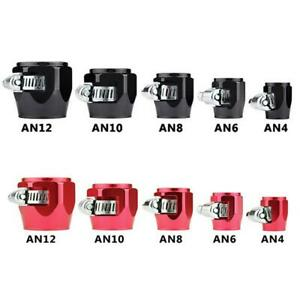 AN4/AN6/AN8/AN10/AN12 HOSE END FINISHER Fuel Oil Water Pipe JUBILEE CLIP Clamp