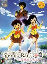 DVD Anime Telepathy Shoujo Ran Complete TV Series 1-26 End English Subtitle R0