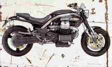 MotoGuzzi Griso 2004 Aged Vintage SIGN A4 Retro