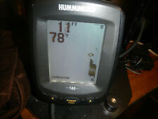 Hummingbird 160 -fish finder with charger, Compass and case tested works great