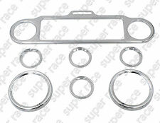 Chrome Speedometer Cover Trim Rings For Harley Touring Electra Glides FLHT 96-13