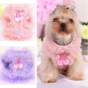 Dog Puppy pet Harness with matching lead Vest Soft Mesh Xsmall Small Chihuahua