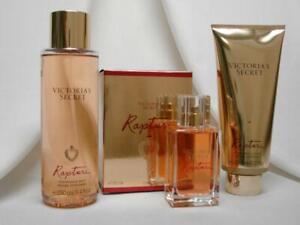 Victoria's Secret ~RAPTURE~ EAU DE COLOGNE FRAGRANCE MIST & LOTION ~ NEW SET