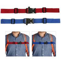 Kids Buckle clip strap adjustable chest harness bag backpack shoulder sK_sh