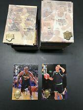 1994-95 Fleer Ultra Complete Series 1 & 2 Set, #1-350 Jason Kidd, Grant HIll RC