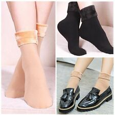Female Women Snow Boots Winter Warm Cotton Socks Wool Thick