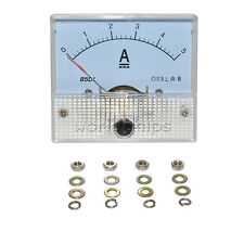 Analog AMP Current Panel Meter DC 0~5A Ammeter 85C1 Brand New