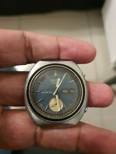 SEIKO 6139-8002 VINTAGE JAPAN MADE FOR RESTORATION PROJECT OR SPARE PARTS USE