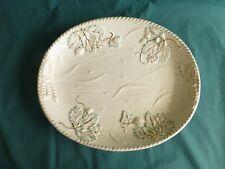 Antique Avalon Faience Baltimore Majolica Strawberry Pattern Platter