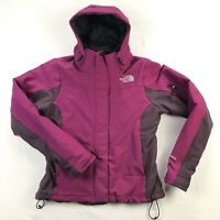 The North Face Apex Insulated Soft Shell Womens Small Purple Full Zip Jacket