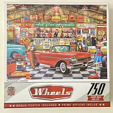 "Masterpieces Wheels ""The Auctioneer"" 750 piece jigsaw puzzle"