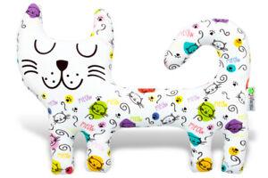 White Cat Soft Toy, 30CM  Christmas Gift, Soft Toy, Cat Soft Toy