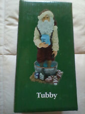 """Boyds Holiday """"Tubby"""" # 28018 New In Box Unopened Nib"""