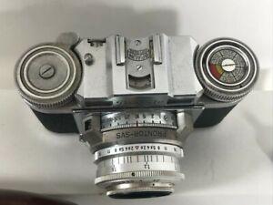 Braun Camera Paxette Prontor SVS mit Lederhülle, Nürnberg