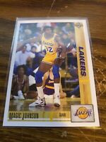 1991-92 Upper Deck Magic Johnson #45 HOF NMMT Lakers NBA Basketball Card