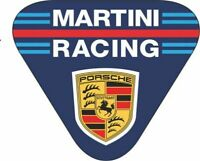 MotorSport Car Vinyl Decals Martini Racing Style Triangle Le Mans Rally F1 x 2
