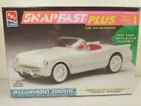AMT ERTL 1953 Chevrolet Corvette Convertible 1:25 Snapfast Model Kit #8314