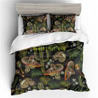 Cactus Skull Doona Quilt Duvet Cover Set Single/Double/Queen/King Bed Linen