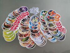 Auchan Cartes Disney LES DEFIS Toys Story 4 + autres heros- Lot 88 cartes sur 96