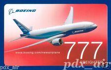 BOEING 777 LONG RANGE WIDE-BODY JET AIRLINER LIVERY STICKER