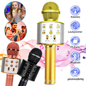 Mikrofone für Kinder MIC Wireless Karaoke Bluetooth Handmikrofon