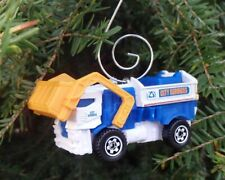 Garbage Truck Waste Management RUMPKE WM City Refuse Christmas Ornament Diecast!
