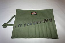 Spanner Tool Roll. Premium. 12 Pocket.  Australian made with Australian Canvas.