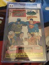 Worlds Finest 172 CGC 4.5 DC Comics 1968 Batman Superman