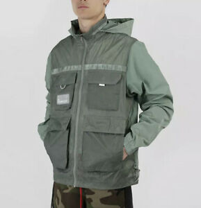 Nike Jordan 23 Engineered Hooded Jacket Windbreaker Spiral Sage CK8935-313 Men S