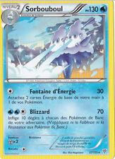 Sorbouboul -N&B:Tempête Plasma-37/135-Carte Pokemon Neuve Française