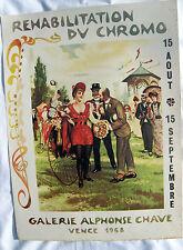 Affiche de la Galerie Alphonse Chave  / Vence 1968